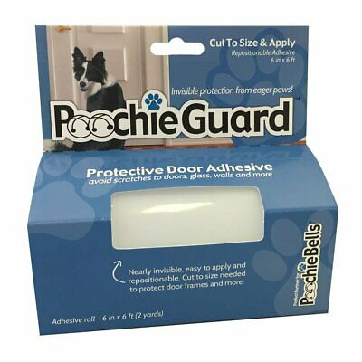 Poochieguard Invisible Lightweight Protective Clear Film Your Home S Doors