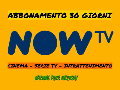🔥 Now Tv 30 Giorni Cinema - Serie Tv - Intrattenimento - Nowtv Smart Stick ✅ 🔥