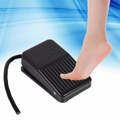 Momentary Foot Controller Pedal Switch AC220V 10A SPDT Foot Pedal Switch BRFBDS