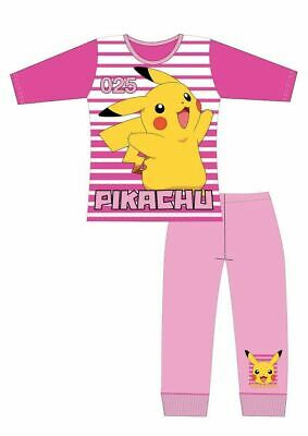 Pokemon Pyjamas | Girls Pokemon PJs | Kids Pikachu Pyjama Set