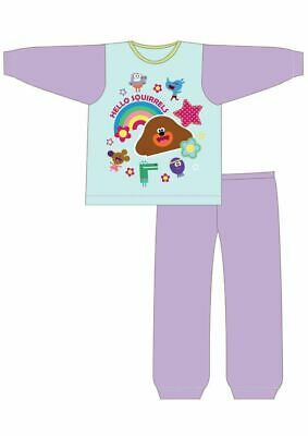 Hey Duggee Pyjamas | Kids Hey Duggee PJs | Girls Hey Duggee Cartoon Pyjama Set