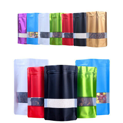 Party Supplies Gift Package Candy Wrapping Bag Kraft Paper Matte Clear Window