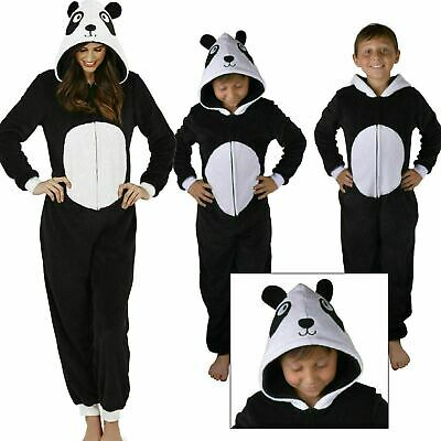 Cute and Cuddly Ladies Kids Panda All in One Jumpsuit Sleepsuit Onezee