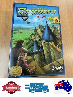 Carcassonne Board Game, Fun Game For Family, AU Stock
