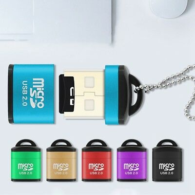 Memory Card Reader To USB 2.0 - Adapter for Micro SD SDHC SDXC TF Card Read Top