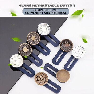 """NO SEW HAMMER ON DENIM// JEAN BUTTONS X 10 SILVER 13MM 1//2/"""""""
