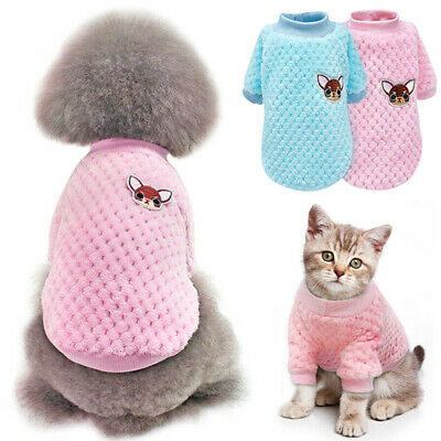 UK Fashion Knitted Puppy Dog Jumper Sweater Pet Clothes For Small Dogs Chihuahua