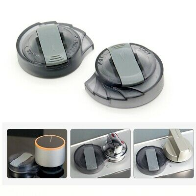 2X Stove Knob Cover Child Proof Safety Lock for Oven/Stove Top/Gas Range