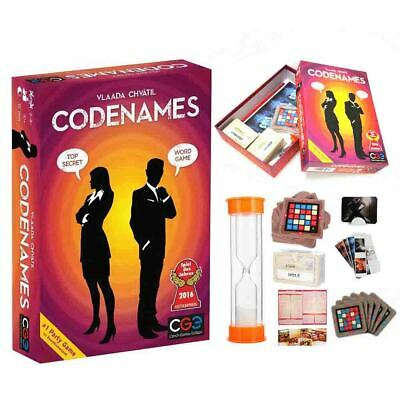 CODENAMES Deduction Cards Party Boards Game WORD GAME TOP SECRET Vlaada Chvátil_