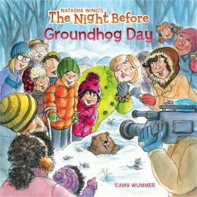 The Night Before Groundhog Day (Paperback or Softback)
