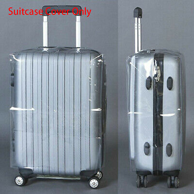 """Transparent Travel Protective Cover Protector Fit for 20 to 28"""" Suitcase Luggage"""