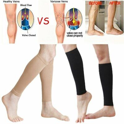 Medical Compression Stockings Thigh High DVT Varicose Sock Support Travel LK