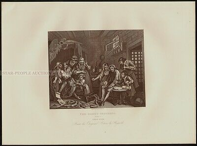 WILLIAM HOGARTH ENGLISH BRUISER OLD ART PAINTING POSTER PRINT BB6522A