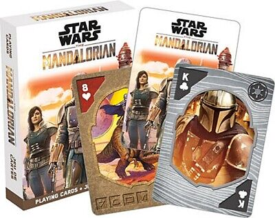 Star Wars The Mandalorian TV Series Photo Illustrated Playing Cards Deck SEALED