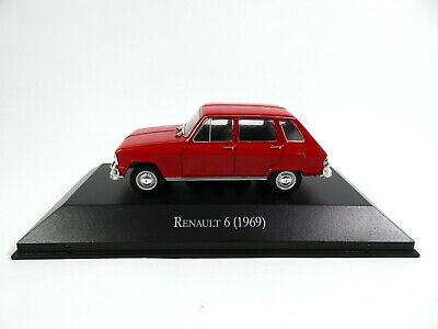 Renault 6 (1969) R6 - 1/43 Voiture Miniature SALVAT Diecast Model Car AR27