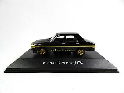 Renault 12 Alpine 1978 R12- 1/43 Voiture Miniature Salvat Diecast Model Car AR43