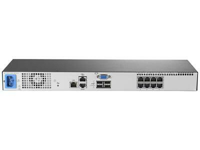 HPE TAA 0x2x16 G3 KVM Console Switch AF653A 767082-001 AF652A