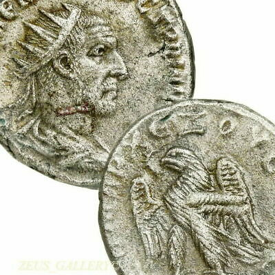 TRAJAN DECIUS Tetradrachm RARE 6 in Prieur Ancient Roman Empire Coin Eagle