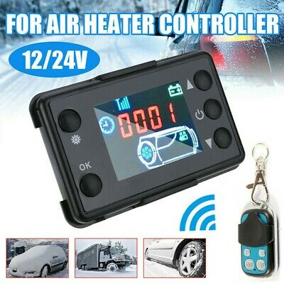 For Truck Car Diesel Air Parking Heater LCD Monitor Switch&Remote Controller