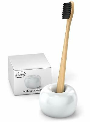 Ceramic Toothbrush Holder - Tooth Brush Holders for Bathroom Hollow Tooth Brush