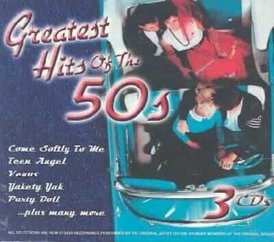 Greatest Hits of the 50's / Various : Greatest Hits of the 50's Rock 3 Discs CD
