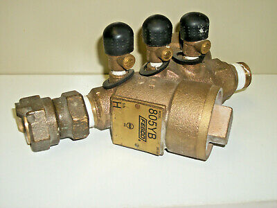 """Febco Watts 3/4"""" 805YB 380123 Double Check Valve Assembly back flow USED"""