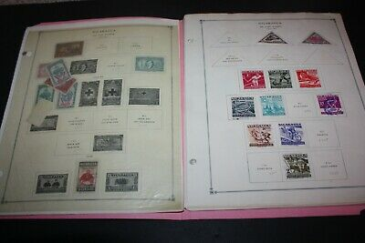 NICARAGUA Fantastic Lot 300+ Mainly Airmail Stamps On SCOTT Album Pages