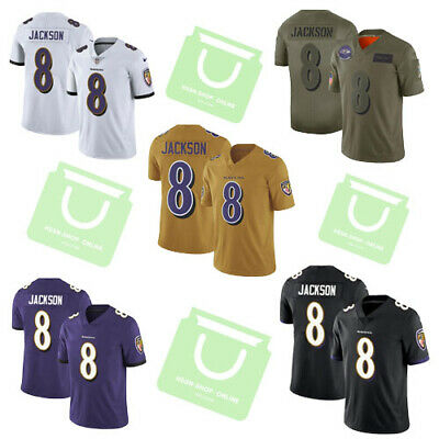 online here cheaper first look LAMAR JACKSON #8 Baltimore Ravens Jersey Large - $45.00 ...