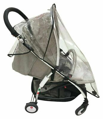 Used Cuggl Stroller Raincover-GT97.