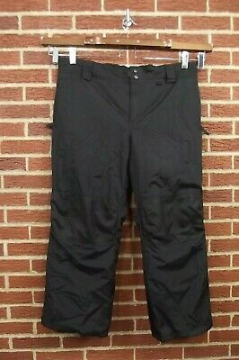Slalom Insulated Snow Pants 2X Black Ski Winter Snowboard Mens Wormens Unisex