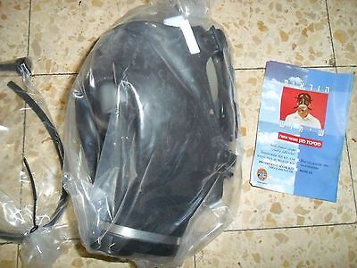 Sealed Adult Idf Zahal Civilian Gas Mask Filter and Tube. Israeli NBC  Israel