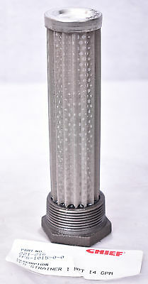 "Ward Chief TFS Strainer NPT 14 1""  GPM TFS-1015-0-0 TFS101500"
