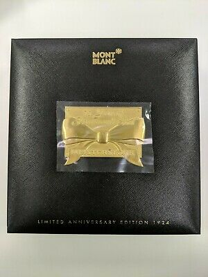 Montblanc Meisterstuck Ballpoint Pen Limited Anniversary Edition 1924 Box Only