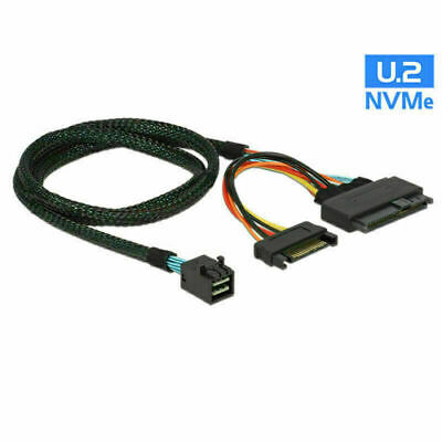 M.2 to U.2 U2 SFF-8639 NVME PCIe SSD Cable for Mainboard Intel SSD 750 M.2