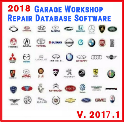 🔥🔥2018 Pro Workshop Garage Repair Auto Database Software☑Fast Delivery 🔥
