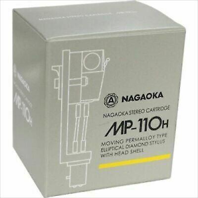 MP-110H NAGAOKA STEREO CARTRIDGE+HEADSHELL FROM JAPAN New