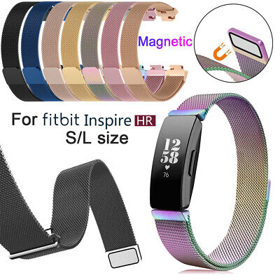 Band Magnetic Milanese Strap Stainless Steel For Fitbit inspire & HR~~