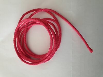 COMTOISE CORD; Diameter: 2.4mm. Length: 20ft approx. Colour: Red