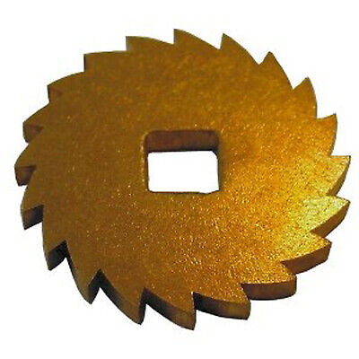 BRASS RATCHET WHEEL FOR CLOCKS 17mm
