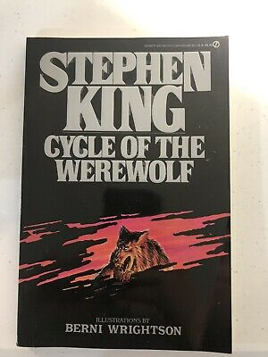 Stephen King Signet Novel Cycle of The Werewolf Basis For Silver Bullet Movie