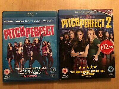 Pitch Perfect 1 And 2 BLU RAY Digital Codes Not Included
