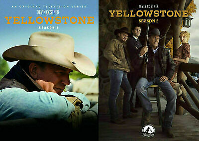 Yellowstone(1 & 2)  TV Series Season 1&2 NEW DVD BUNDLE. Free 1st Class Shipping