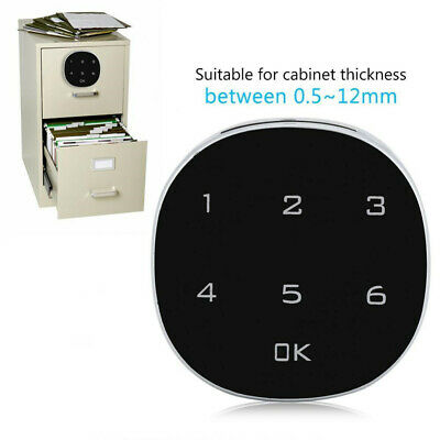 Safety Electronic Touch Keypad Cabinet Code Lock Password Key Digital Security