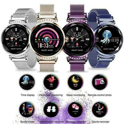 Fashion Women Ladies Smart Watch Heart Rate Fitness Tracker For iOS Android Gift