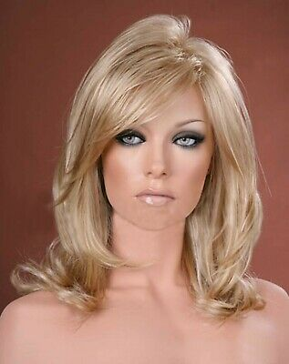 Forever Young Ash Blonde Mix Long Straight Tapered Wig UK Fashion Wigs