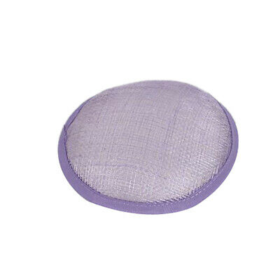 Sinamay Saucer Smartie Hat Base for Hostesses making fascinators hats party DIY