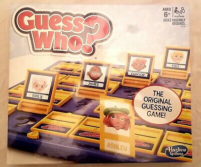 Hasbro Guess Who? Classic Game NEW and SEALED BOX