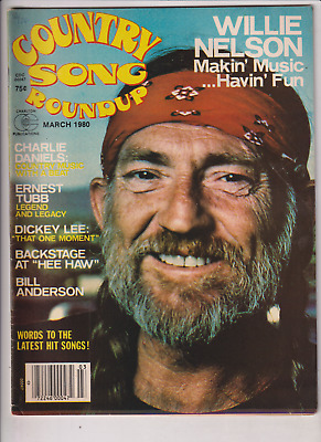 Country Song Roundup Mag Willie Nelson Charlie Daniels March 1980 121919nonr