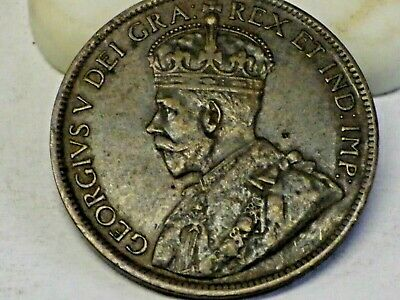 1919 Canada One Cent Foreign Coin Penny vintage Canadian Coin!!!!!!