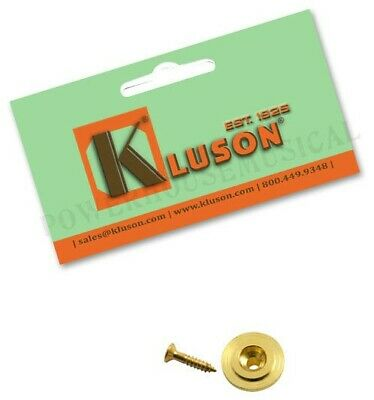 KLUSON REPLACEMENT STRING RETAINER FOR FENDER AMERICAN STANDARD BASS NICKEL*NEW*
